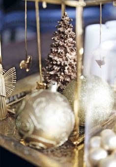 Casinha colorida: Elegante e moderna, uma decoração de Natal que beira a perfeição!