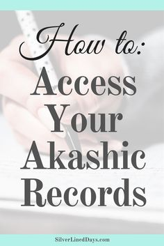 Why Access Your Akashic Records? - Silver Lined Days Spiritual Healer, Spiritual Enlightenment, Spiritual Awakening, Awakening Quotes, Psychic Development, Spiritual Development, Psychic Powers, Psychic Abilities, Chakras