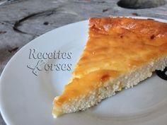 Recette Fiadone au citron - Gâteau Corse -lire les commentaires sur le site