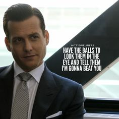 Suits Quotes Harvey, Harvey Specter Quotes, Boss Quotes, True Quotes, Motivational Posts, Inspirational Quotes, Life Skills, Life Lessons, Witty One Liners
