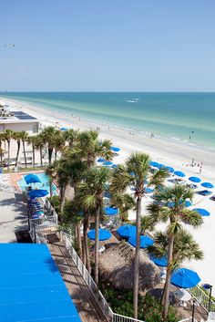 North Redington Beach, FL ~ Smaller, a lot less crowded than Clearwater Beach & just as beautiful