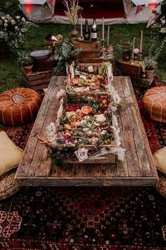An Evening Wedding Inspiration Shoot with Bell Tents Forest Wedding, Woodland Wedding, Boho Wedding, Picnic Decorations, Bell Tent, Grazing Tables, Festival Wedding, Glamping, Wedding Inspiration