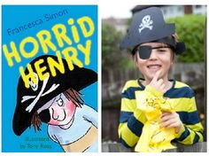 How to make a Horrid Henry costume for World Book Day and other great WBD costume ideas.