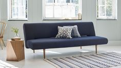 Reinventing classic Scandinavian furniture for smart, modern living, Hinge is a versatile sofa bed by Danish designer Per Weiss for Ambrose. Sitting pretty within contemporary interiors or alongside mid-century styled pieces, its simple forms make a functional addition for homes limited on space but unwilling to compromise when it comes to style and comfort.