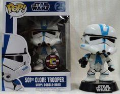 Funko Pop Star Wars 501st Clone Trooper Vinyl Bobblehead Figure 2012 Comic Con Exclusive - http://coolgadgetsmarket.com/funko-pop-star-wars-501st-clone-trooper-vinyl-bobblehead-figure-2012-comic-con-exclusive/