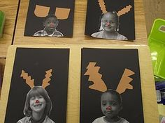 Fun Christmas art - and I love the persuasive writing activity to go along with it.
