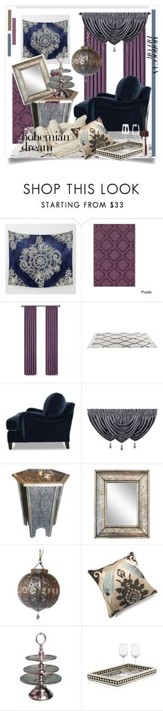 """""""Bohemian Dream: Moroccan Decor"""" by kari-c ❤ liked on Polyvore featuring interior, interiors, interior design, home, home decor, interior decorating, Artistic Weavers, Queen Street, Mitchell Gold + Bob Williams and Moroccan Prestige"""