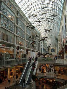 Toronto Canada - Eaton Centre