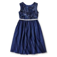 Marmellata Navy Ballerina Dress - Girls 6-16  found at @JCPenney