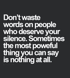 Great piece of advice