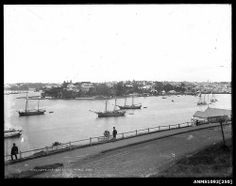 Woolloomooloo Bay, Sydney Harbour (date ? Botany Bay, Sydney City, Maritime Museum, Sense Of Place, Historical Images, Blue Mountain, Tall Ships, History Museum, Sydney Australia