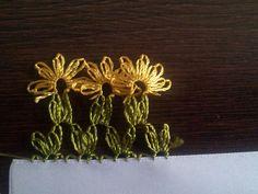 Turkish Needle Lace OYA - daisies