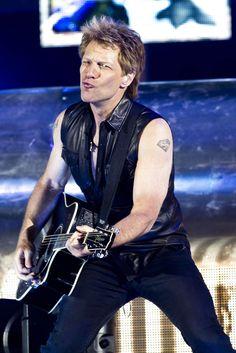Jon Bon Jovi in Copenhagen on June 6, 2013