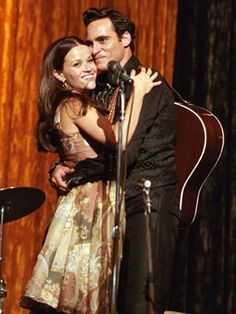 Walk the Line - Reese Witherspoon and Joaquin Phoenix Walk The Line Movie, Love Movie, Movie Tv, Johnny Cash June Carter, Johnny And June, Joaquin Phoenix, Movies Showing, Movies And Tv Shows, Reese Witherspoon Movies