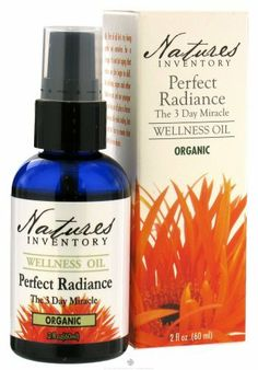 Perfect Radiance Wellness Oil Nature's Inventory 2fl oz (60ml) Liquid by Nature's Inventory. $11.96