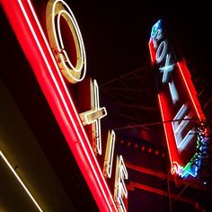 The Roxie Theater's vintage neon! Seeing The Babadook and trying not to be scared :) #theater #independent #roxie #roxietheater #babadook #movie #neon #vintage #signage