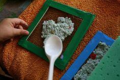Experimento_papel_semillas-filtrado Paper Art, Herbs, Diy, Mixed Media, Natural, Google, Crafts, Second Life, Paper Crafting