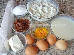 Placinta dobrogeana cu branza dulce Ingrediente Deserts, Sugar, Recipes, Foods, Food Food, Desserts, Food Items, Dessert, Rezepte