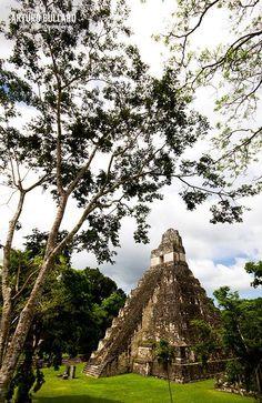 Torre del Gran Jaguar, Tikal, Guatemala.