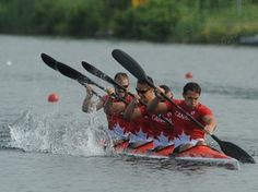July 12 - Canoeing Flat - Men K4 1000m Final.  Canada places 4th in Mens K4-1000m race.  Burlington's Brady Reardon and teammates Andrew Jessop, Pierre-Luc Poulin, and Phil Duchesneau placed 4th in today's PanAm k4-1000m medal race, held at the Welland International Flatware Centre.