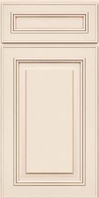 Door detail garrison square ab1m1 maple in canvas w for Dove white cabinets with cocoa glaze