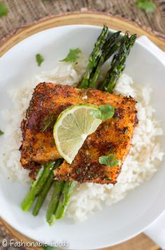 Roasted Chile Lime Cod Filets are rubbed with a flavorful spice mixture before roasting to perfection. Top this roasted chili-lime cod is with a delicious lime-butter sauce! Cod Fish Recipes, Seafood Recipes, Paleo Recipes, Dinner Recipes, Cooking Recipes, Bariatric Recipes, Detox Recipes, Dessert Recipes, Fish Dishes