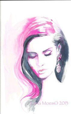watercolour portrait - Google Search