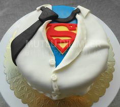 Superdad cake  mutludilimler.blogspot.com