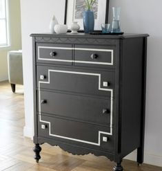 diy dresser makeover {in love with this idea}