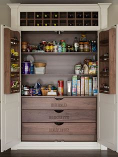Amazing 84 inch tall kitchen pantry cabinet on Noonprop8.com #Kitchen #Pantry #Cabinets #Home #KitchenIsland #Decor