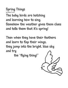 ... images about Poetry on Pinterest   Poem, School poems and First grade