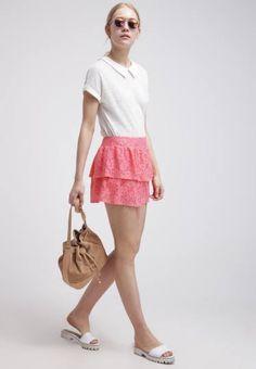 Even&odd Minifalda Coral vestidos y faldas Minifalda Even&Odd coral Noe.Moda