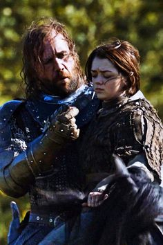 Sandor clegane & Arya