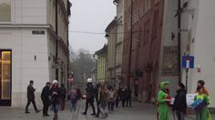 Krakow; oldtown; Leaving oldtown...