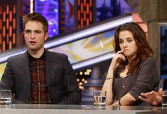 Robsten Dreams: Robsten Pic of the Day~They were so giggly and cute the whole time.