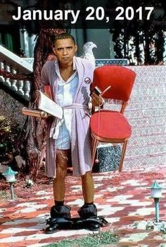 Bye-bye The worst houseguest the White House ever had!