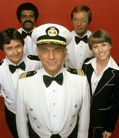 The Love Boat  -  Gavin MacLeod (Capt. Merrill Stubing)...Bernie Kopell (Doc Bricker)...Fred Grandy (Gopher Smith)...Ted Lange (Isaac Washington...Lauren Tewes (Julie McCoy, 1977-1984)...Jill Whelan (Vicki Stubbing, 1979-1986)...Ted McGinley (Ace Covington Evans, (1984-1986)...Pat Klous (Judy McCoy - 1984-1986)  -  ABC  -  1977-1986