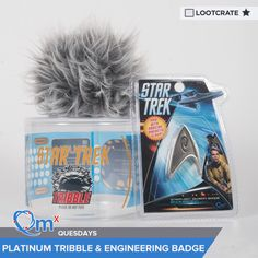 I'm entered to win a #StarTrek Platinum Tribble & Engineering Badge courtesy of QMx & Loot Crate! #QMxQuesdays