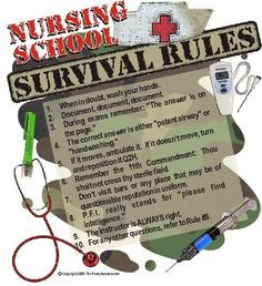 Nursing- in honor of my friend Kenzie getting into nursing school. You need to know these lol