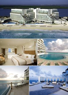 Sun Palace - part of the Palace resorts.  Located in Cancun the resort is all-inclusive, couples only and features 3 infinity pools, 3 bars and 4 a 'la carte restaurants to choose from.  ASPEN CREEK TRAVEL - karen@aspencreektravel.com