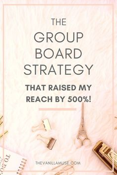 Wanna know how I increased my reach on Pinterest by 500%?! Since Pinterest is the biggest source of traffic for most bloggers, I knew I had to form a strategy to capture all of that traffic! In this post I detail the EXACT way I use Pinterest group boards and how my reach soared because of it.