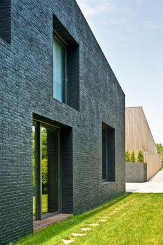 Houses In Rybnik designed by Jojko+Nawrocki Architekci; Rybnik / Poland
