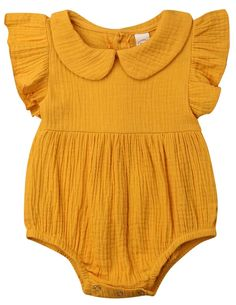 Shop the best rompers to make your baby girl look amazing and pretty. High-quality toddler, infant & newborn baby girl rompers for all seasons at The Trendy Toddlers. Outfits Niños, Baby Outfits, Kids Outfits, Newborn Outfits, White Outfits, Baby Girl Romper, Baby Girl Newborn, Baby Girls, Baby Bodysuit
