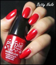 Betty Nails: Vintage Love - Purple Professional - Collection Swatches