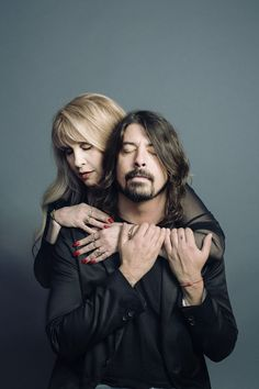 Dave Grohl e Stevie Nicks ~ two of my favorite people.