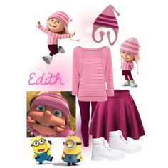 Despicable Me....#5 by the-house-of-el on Polyvore featuring moda, Replay, C.R.A.F.T. and Timberland