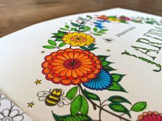 Pintando o livro Jardim Secreto!