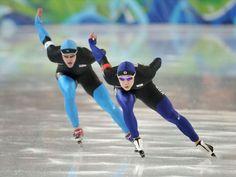 Speed skating - flying inspiration!