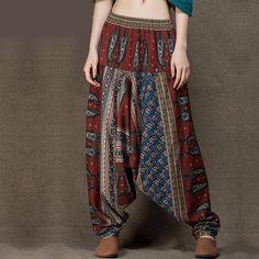 Long Indian Cotton Linen Baggy Harem Pants    https://zenyogahub.com/collections/casual-pants/products/long-indian-cotton-linen-baggy-harem-pants