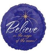 "18"" Believe in the Magic of the Season"